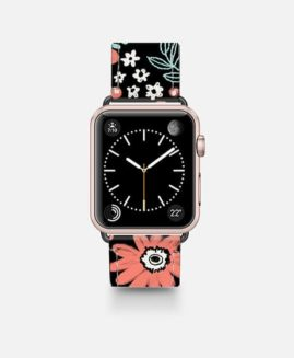 42mm Chalky Flowers Apple Watch Band