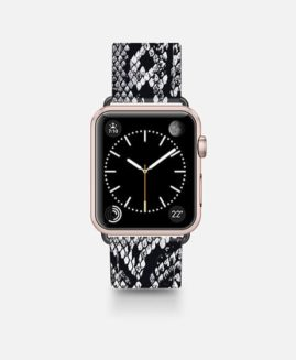 42mm Faux Python Skin Apple Watch Band