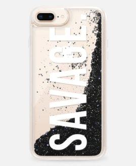 iPhone Plus Savage Glitter Case