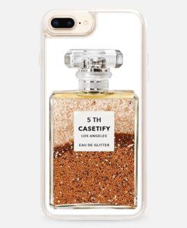 iPhone Plus Miss Perfume Glitter Case