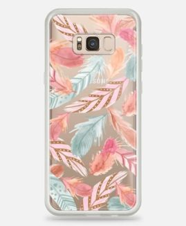 Samsung Galaxy S8 PLUS BOHO FEATHERS CASE